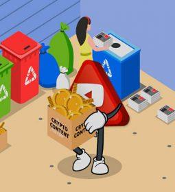 روی خوش یوتیوب به ارزهای دیجیتال