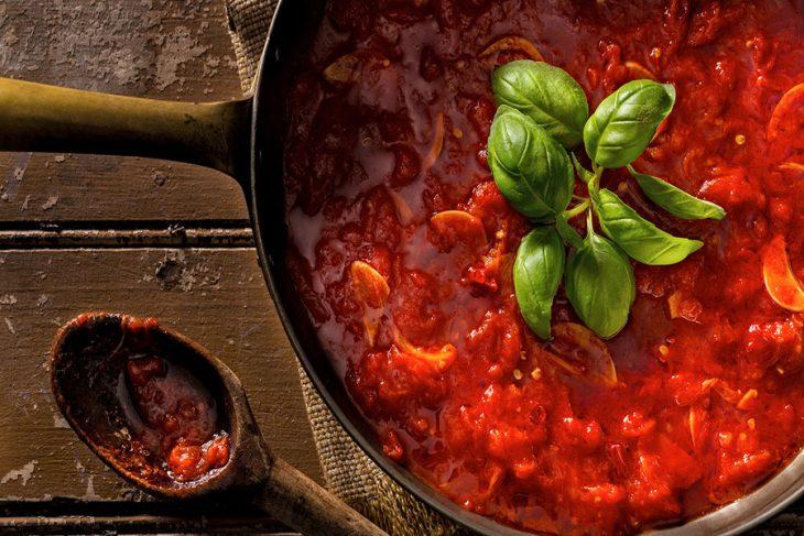 طرز تهیه سس گوجه