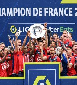 لیل قهرمان فرانسه شد