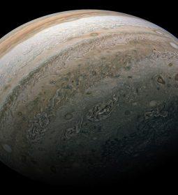 ناسا عکس بسیار با کیفیتی را از سیاره مشتری گرفت
