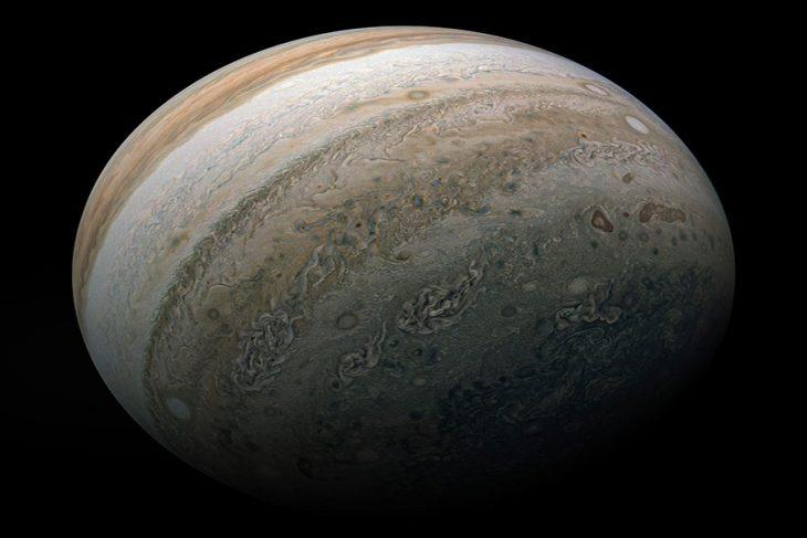 ناسا عکس بسیار با کیفیتی از سیاره مشتری گرفت