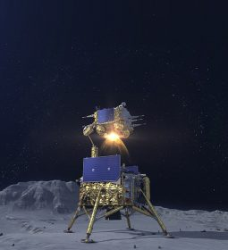 فرود سفینه فضایی چین بر روی کره ماه